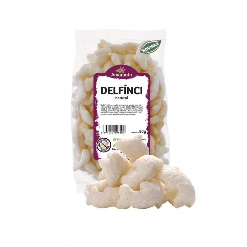 DELFÍNCI natural 80g